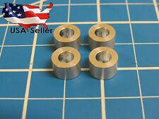 "Aluminum Spacer M5, 1/4"" long, 5.1mm ID x 10mm OD x 6.35mm L (25 pack)"