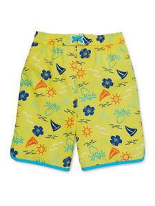 Wonder Nation Baby Toddler Boy Yellow Swim Trunks Size (5T)