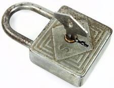 Vintage Padlock ' SOS 37 ' with Key - My Ref.V8