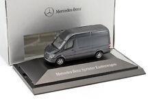 Mercedes-benz Sprinter Van Tenorite Gris Métallique 1 87 Herpa