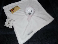 BLANKET BEYOND SECURITY WHITE BEAR OWL DOG HEAD PINK EAR MUFF NECK SCARF WINTER