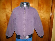 CARHARTT JQ (Size Large) WESTERN  QUILTED LINED INSULATED JACKET  Mens