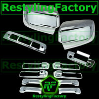09-17 Ram Chrome Mirror no Light+4 Door Handle+Tailgate+KH+CM+3rd brake Cover