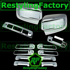 09-15 Ram Chrome Mirror no Light+4 Door Handle+Tailgate+KH+CM+3rd brake Cover
