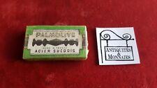 BOITE DE 5 LAMES DE RASOIR PALMOLIVE NEUVE ANCIENNES VINTAGE - REF32029