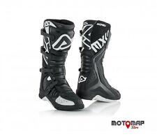 Stivali Moto Racing XVR Raytek Modello Trevor Bianco