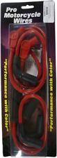 TAYLOR RED SPARK PLUG WIRES HARLEY M8 MILWAUKEE ELECTRA GLIDE ROAD KING STREET