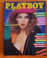 PLAYBOY MENS MAGAZINE NOVEMBER 1985 PAMELA SAUNDERS DON JOHNSON & PMT STING