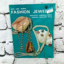 Vintage 1971 You Can Make Fashion Jewelry A Craft-Course Book Instructional