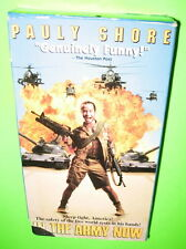 Pauly Shore In The Army Now VHS 1995 Comedy Action Movie Lori Petty Andy Dick