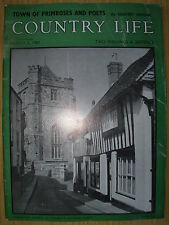 VINTAGE COUNTRY LIFE MAGAZINE MARCH 2nd 1961 IDEAL BIRTHDAY GIFT - HASTINGS
