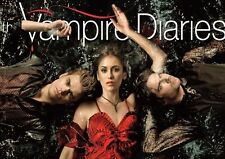 The Vampire Diaries Cast Text POSTER