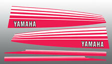YAMAHA 1978 EXCITER 340 440 EX340 EX440 SNOWMOBILE HOOD TUNNEL DECALS GRAPHICS