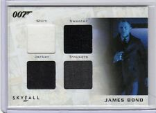 James Bond 2013 Autographs & Relic SQC2 card  197/200