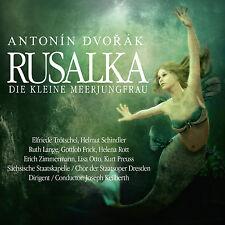 CD Rusalka Die kleine Meerjungfrau von Antonin Dvorak Komplettaufnahme    2CDs