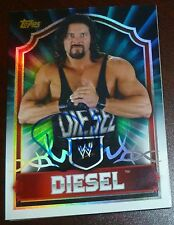 Kevin Nash Diesel Signed 2011 Topps Classic Card #82 Autograph Auto'd WWE WWF