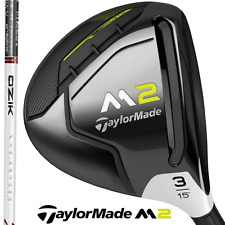 """NEW 2017"" TAYLORMADE M2 3 WOOD + STIFF FLEX MATRIX OZIK WHITE TIE 60X4 SHAFT"