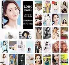 30pcs /set Cute Kpop Girls' Generation Yoona Photo Picture Poster Lomo Cards