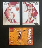 Tyler Herro Rookie Lot of 3x - Panini Court Kings Maestro, Mosaic RC, NBA Debut