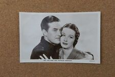 Ray Milland & Patricia Morison p310 Film Partners  Real Photograph Postcard xc2