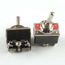 2pcs 20A 125V Heavy Duty Toggle Switch Dpdt On-Off-On Switch 6 Terminal Car Boat(Fits: More than one vehicle)