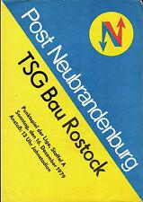 DDR-Liga 79/80 post Neubrandenburg-TSG construcción rostock, 16.12.1979