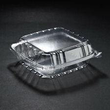 125 Dart Solo 2000cc Clear Deep Plastic Salad Container C90PST1 Seal Hinged