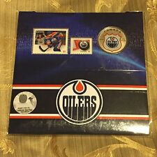 NHL ® Coin and Stamp Gift Set - Edmonton Oiler ® (2014)