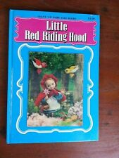 LITTLE RED RIDING HOOD ~ FROEBEL-KAN ~ GIANT 3-D FAIRY TALE BOOKS