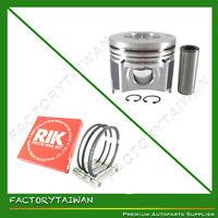 Piston + Ring Kit Set STD 87mm for Kubota V2607 (100% Taiwan Made)