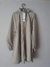 Uniqlo U Stand Collar A-Line Coat Light Green - Medium
