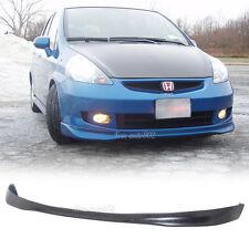 Fit For 06-07 Honda Fit JDM T-R Style PU Front Bumper Lip Spoiler Polyurethane