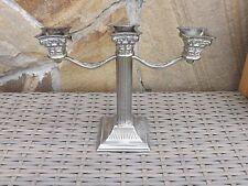 Kerzenleuchter Kerzenhalter Kandelaber 3 flammig Jugendstil Messing versilbert?