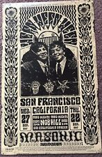 Ween San Francisco CA 2017 Masonic EMEK Two Sided Poster Grateful Dead Tribute