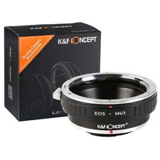 K&F Mount Converter Canon EOS EF Lens on Micro 4/3rds Mount