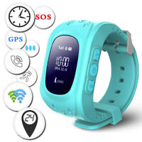 Anti-lost Kinder Smartwatch BT GPS Tracker Armband Uhr SOS Android iOS