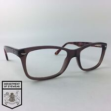 RAY-BAN eyeglasses TRANSLUCENT BROWN SQUARE glasses frame MOD: RB 5228 5628