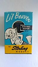 Vintage Lil Beaver Electric Motor by Sterling Models