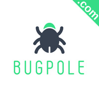 BUGPOLE.com Catchy Short Website Name Brandable Premium Domain Name for Sale