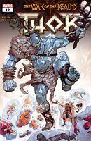 Thor #12 War of Realms Tie In Marvel Comics 2019 1st Print Unread NM