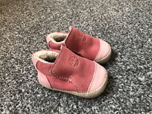 Baby Girl Pink Timberland Suede Shoes