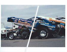 "1970s NHRA Drag Racing-""Blue Max""-Raymond Beadle-Mickey Thompson's ""US MARINES"""