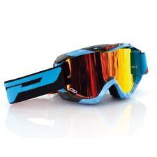 Progrip 3450 Multilayered Goggles Motocross Enduro Brille blau/schwarz