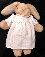 Vintage Charm Co Bunny Rabbit Brown 1985 Plush