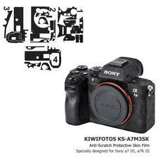 Anti-Scratch 3M Camera Skin Protector Film Cover fr Sony A7III A7RIII A7M3 A7RM3