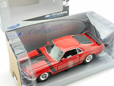 Welly 22088 1970 Ford Mustang Boss 302 Rot 1:24 Modellauto OVP 1602-27-68