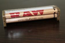AUTHENTIC RAW HEMP ROLLING PAPER MACHINE HAND ROLLER 110MM KING SIZE
