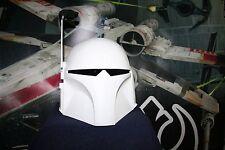 Star Wars Universe Bounty Hunter MANDALORIAN Mando Merc 1:1 Cosplay Helmet Prop