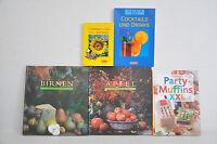 Bücherpaket: 5x Landhausküche Birnen, Apfel/Cocktails und Drinks/Sommerküche/..