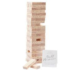 72 Piece Memory Blocks Wedding Guest Book Alternative
